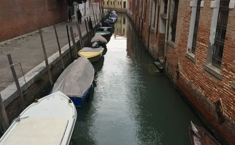 Venice – the city of canals…